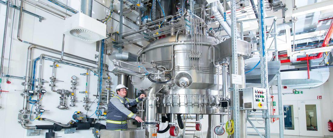 Dossenheim site API drug manufacturing