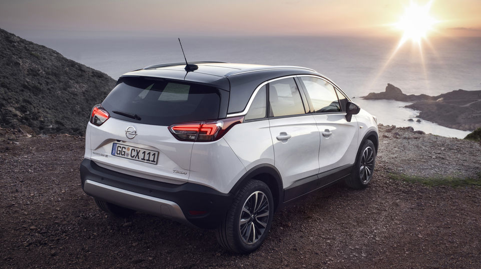 The striking contours of Opel's new family SUV, the Crossland X, make a big impression, and the eye-catching PLEXIGLAS® optical fibers integrated into the taillights are a big part of that.  The fibers, which are shaped in the brand's current signature motif, distribute light evenly for a uniform red. (Source: Opel)
