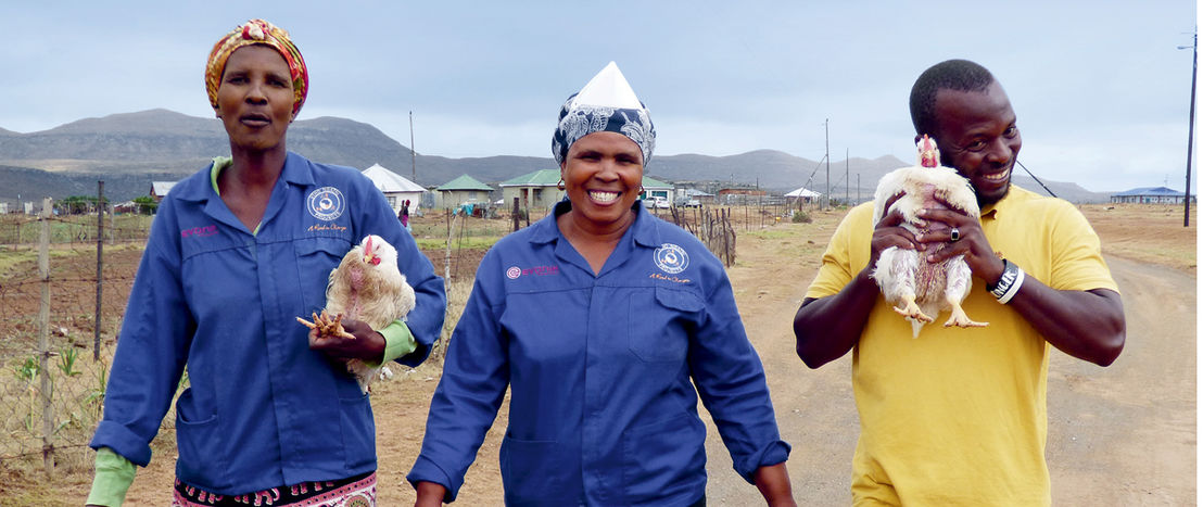 Chicken farming enables people with disabilities to lead a selfdetermined life