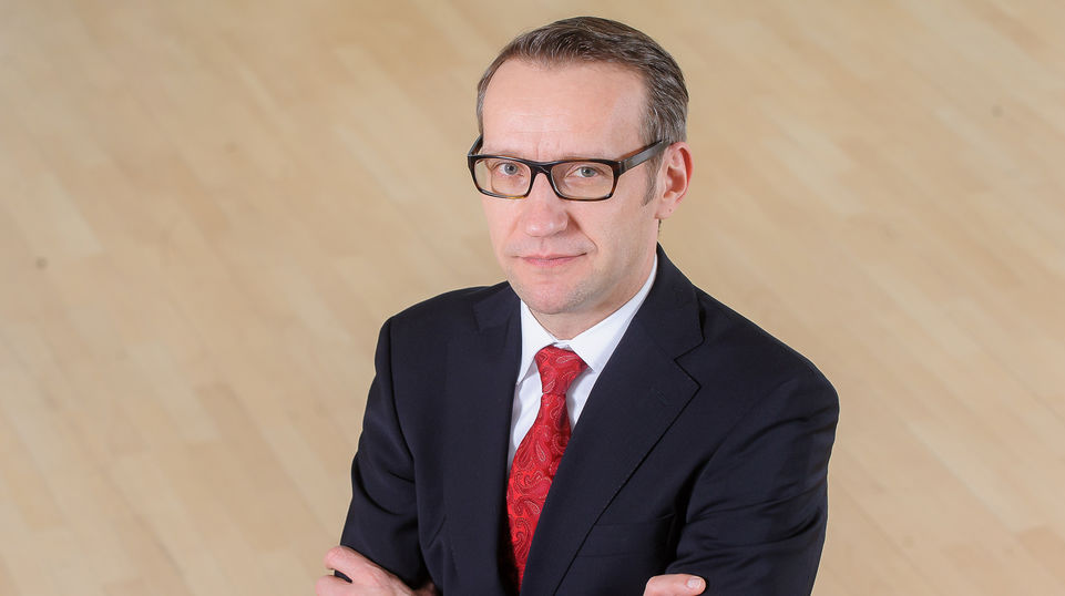 Dr. Henrik Hahn, Chief Digital Officer (CDO) and Chairman of the Management Board of Evonik Digital GmbH