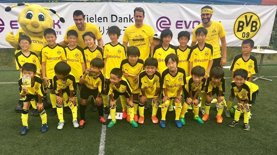 The BVB's Evonik Soccer School.