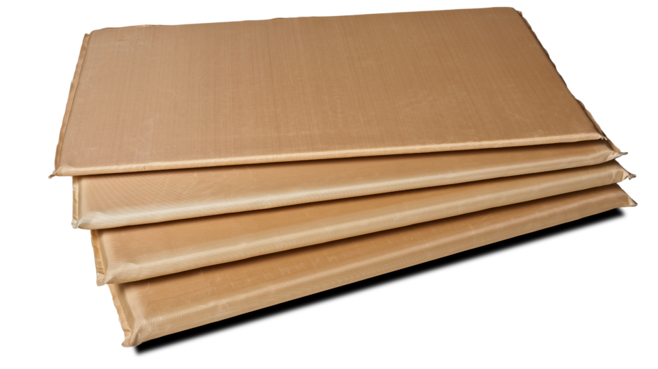 The perfect match for the TWIST element, CALOSTAT® Pad comes in panels 10 – 50 mm thick.