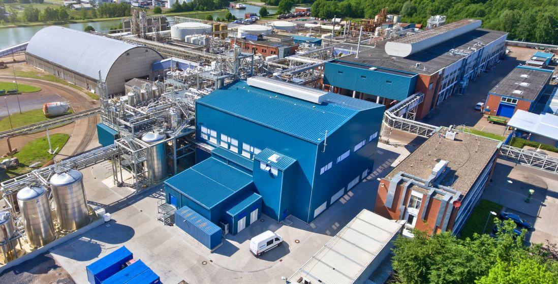 KOH production plant in Ibbenbueren/Germany